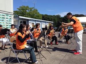 宮城県山元町でチャリティイベントに参加のサムネイル画像