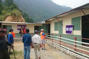 Gorkhaにて学校建設を支援のサムネイル画像
