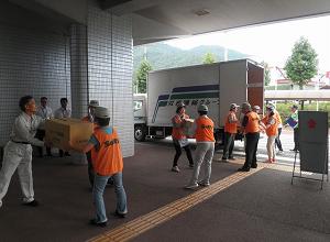 広島県・広島市総合防災訓練に参加のサムネイル画像