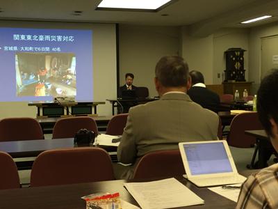 SeRV 宗援連の情報交換会で活動報告のサムネイル画像