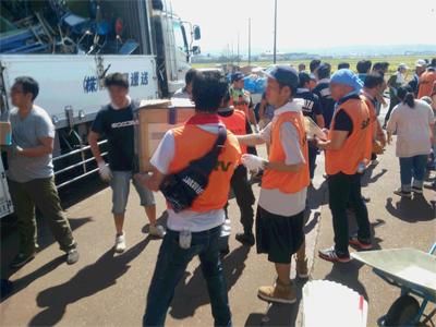 平成28年台風10号 資機材搬出ボランティアに参加のサムネイル画像