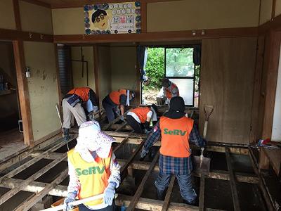 九州北部豪雨 日田市での活動のサムネイル画像