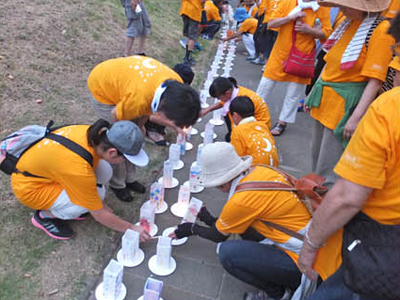 SeRV長崎 「平和の灯」ボランティアに参加のサムネイル画像