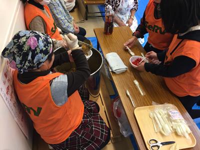 SeRV福島 炊き出し訓練のサムネイル画像