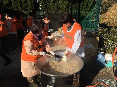 SeRV香川 炊き出し訓練のサムネイル画像