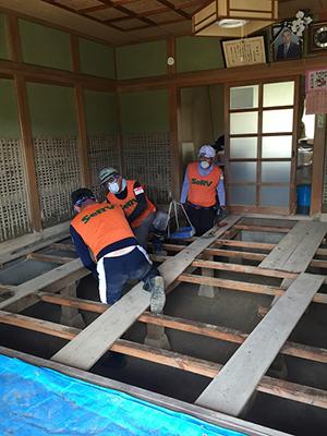 平成30年7月豪雨 広島県三原市での活動のサムネイル画像