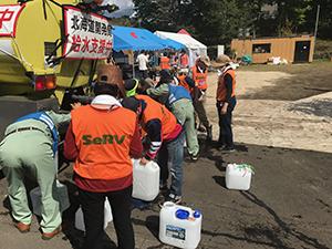 平成30年北海道胆振東部地震 厚真町での活動のサムネイル画像