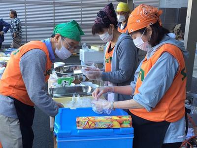 SeRV京都 炊き出し訓練のサムネイル画像