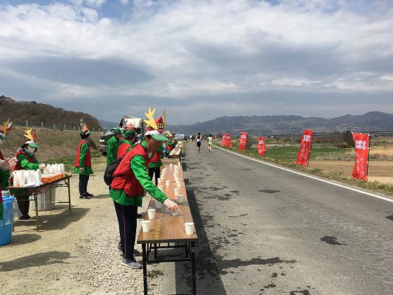長野マラソンのボランティアに参加のサムネイル画像