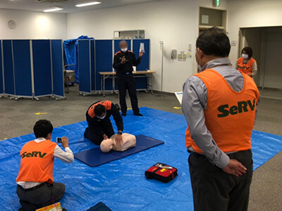 SeRV大阪 救急救命講習を実施のサムネイル画像